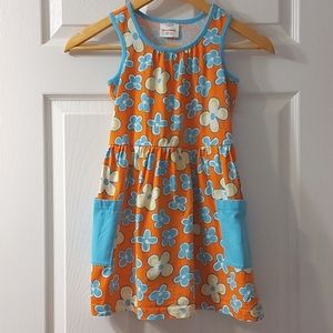 Hanna Andersson Girls Floral Dress